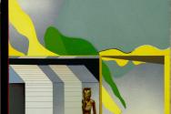 무제 : 컨버스에 유채 - 정영렬 작