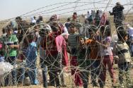 시리아 난민들