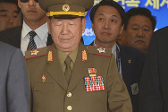 북한 대표단