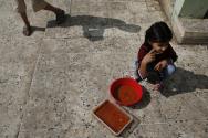쿠르드 난민 소녀