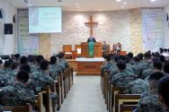 남수단 파병예배 한빛부대 4진