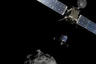 11.12 ESA 로제타 탐사선 팔레 탐사로봇의 혜성탐사 상상도