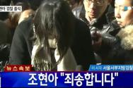 '땅콩 회항' 조현아 전 부사장
