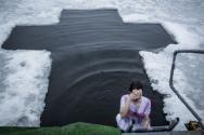 1.20 우크라이나 도네츠크 얼음물목욕