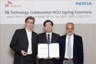SKT-노키아 5G 데이터기술 공동개발 체결