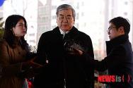조양호, '땅콩회황' 사건 2차 공판 증인 출석