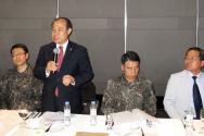 한국기독교군선교연합회 육군훈련소 연무대교회 새 예배당 건축 교계 주요 언론사 기자 초청 특별간담회