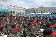 육군훈련소 연무대교회 새예배당 착공예배 착공예식 한국교회건축후원회 출범식