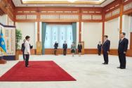 박근혜 대통령 신임 장관급 임명