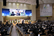 예장합동 제100회 총회가 열린 대구 반야월교회 총대들의 모습.