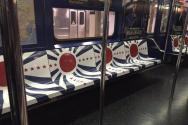 (Photo : 기독일보) (Photo : 출처 = Katherine Lam 트위터) 욱일승천기와 나치 문양으로 도배된 지하철