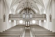 텅빈 교회 예배당