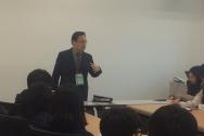 한국기독공공정책개발연구원장 장헌일 목사가 청소년 연합수련회에서 특강을 전했다.