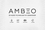 젠하이저 3D 몰입형 오디오 기술 트레이드 마크인 'AMBEO'