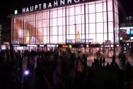 1천여 명의 이민자들로 말미암아 집단 성폭력 범죄가 발생한 쾰른 시내 중심가 모습.