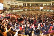 여의도순복음교회 예배
