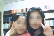이 모 목사의 소셜네트워크에 올라왔던 두 딸의 모습. 왼쪽 작은 어린이가 이번에 사망한 여중생이다.
