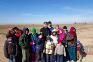 ▲IS의 인질로 잡혀 있다가 풀려난 아시리아 기독교인들. ⓒACERO