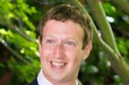 페이스북의 마크 저커버그.