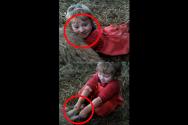 어린 소녀 양 새기 출산