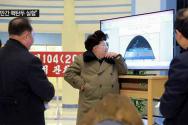 김정은 북한 국방위원회 제1위원장 핵탄두