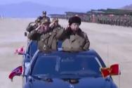 북한 김정은 서울 타격 훈련