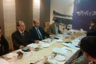 NCCK 화해·통일위원회가 4일 기자회견을 열고 남북교류에 대한 통일부의 제재조치에 대해 입장을 발표했다.