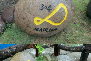 필리핀 타클로반에 마련된 세월호 희생자들을 위한 추모공원