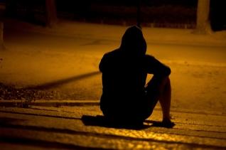 외로움 고통 혼자