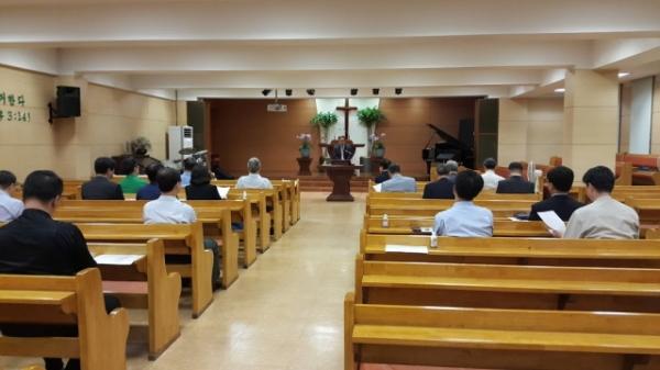 광진구기독교연합회임역원긴급모임