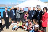 한교연 3년동안 몽골에 30개 게르교회 건축 헌당