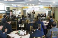 한교연이 신임교단장 및 총무 취임축하감사예배를 한국기독교연합회관에서 드렸다.