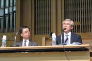 오른쪽이 발표자인 성덕교회 민경운 목사