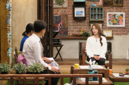 CBS '새롭게 하소서'에 출연한 양궁 장혜진 선수.