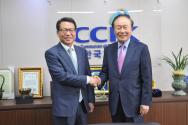 김정훈 서울경찰청장(왼쪽)과 조일래 한교연 대표회장.