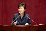 박근혜 대통령 시정연설