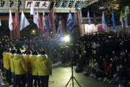 신학생들이 연대해 8일 저녁 대한문 앞에서 '신학생총연합시국기도회'를 개최했다.