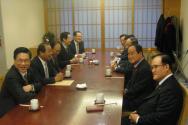 한국교회연합추진위원회 위원들과 한국교회연합 정서영 대표회장을 비롯한 증경 대표회장들이 만나 한기총 한교연 통합에 대한 대화를 나눴다.