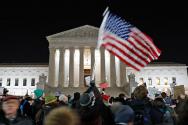 프럼프 행정부 반이민 정책 항의 시위 / 연합KBS