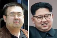 김정남과 김정은 / AFP