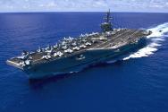 미 핵추진 항공모함 칼빈슨호(CVN 70)