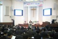 """서울 충신교회에서는 """"급변하는 과학기술 사회와 교회""""를 주제로 한국교회지도자센터 '제6회 바른신학 균형목회 목회자 컨퍼런스'가 열렸다."""