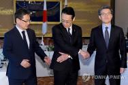 한미일 북핵 6자 회담 수석대표 / 연합뉴스