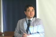 교회정보기술연구원장 이동현 목사가 주제강연을 전하고 있다.