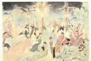 김기창 십자가상의 예수