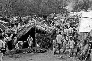 6.25전쟁 피난민들