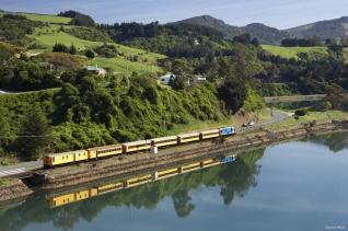 뉴질랜드 기차 여행