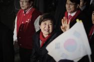 박근혜 대통령 당선의 순간