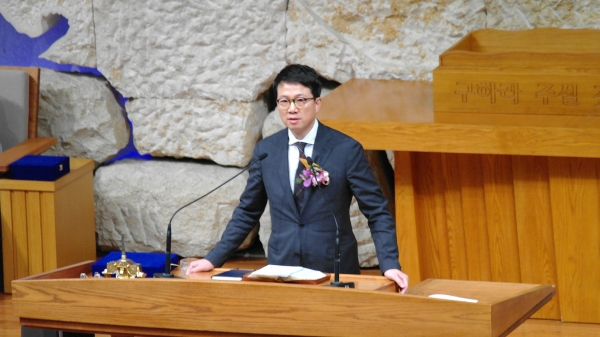 명성교회 김하나 목사.