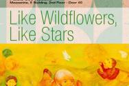 0. 김근태와 5대륙 장애아동전 들꽃처럼 별들처럼 포스터